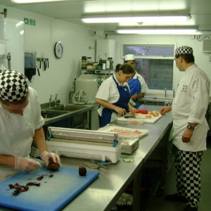 Preparation Kitchens